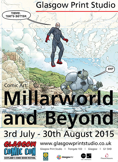 Comic Art: Millarworld and Beyond